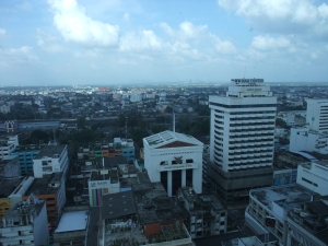 A partial view of Hat Yai